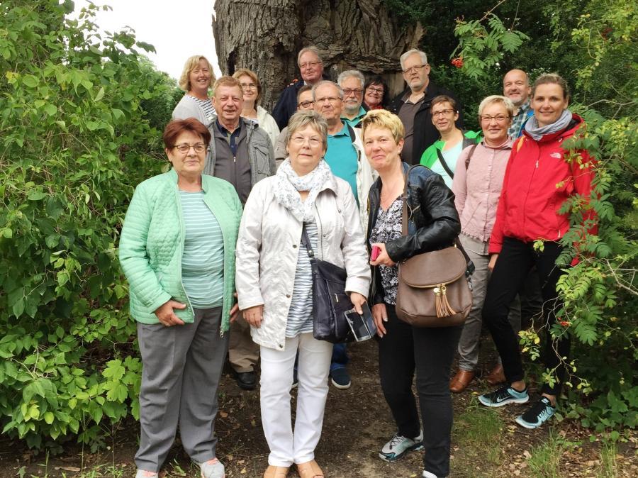 Vereinsfahrt 2017 zur Pfaueninsel / Potsdam