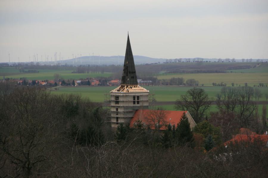 Turmhaube wird nochmals saniert