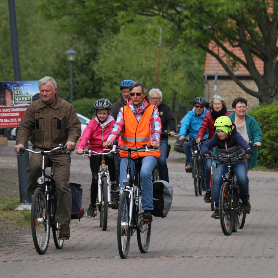 Fahrradpilgertour am 11. Mai