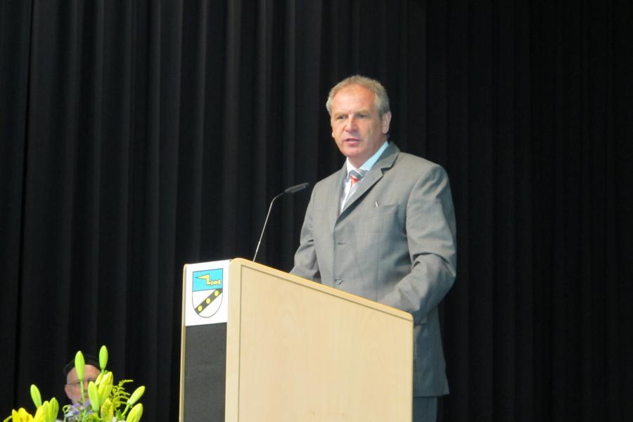 Reinhold Gall, Innenminister des Landes Baden-Württemberg