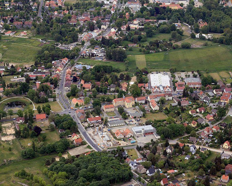 Luftbild Rathaus-Anger