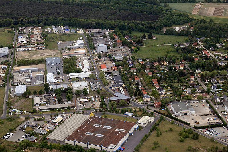 Luftbild Gewerbegebiet Süd