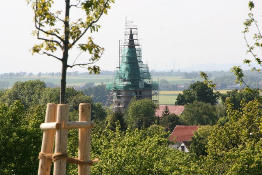 Der Turm hat sein äußeres Bild wieder