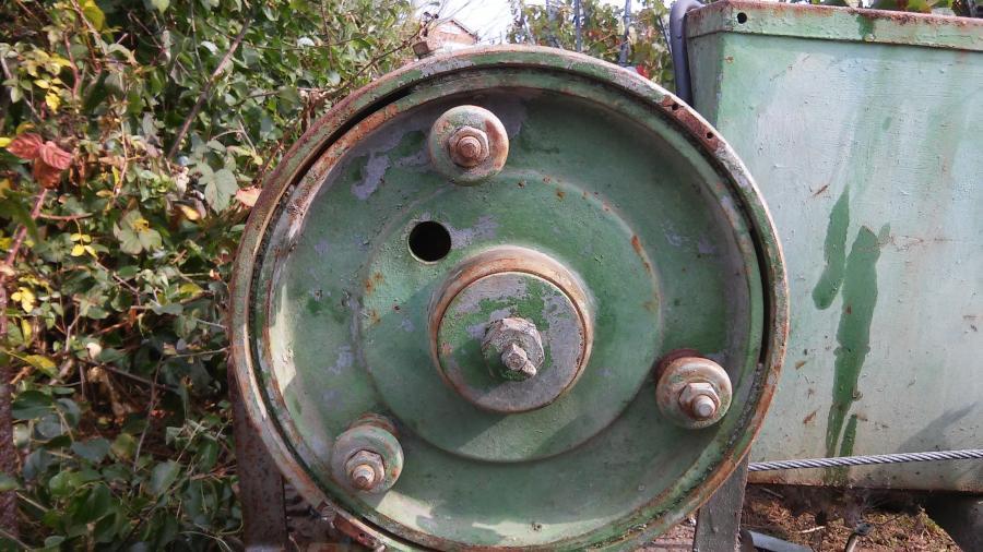 Impression alte Maschine