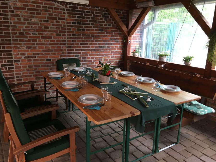 Gaststätte auf dem Hof