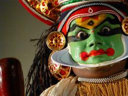 Indien: Kathakali Tanz
