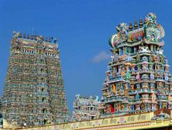 Indien: Shiwa-Tempel Madurai
