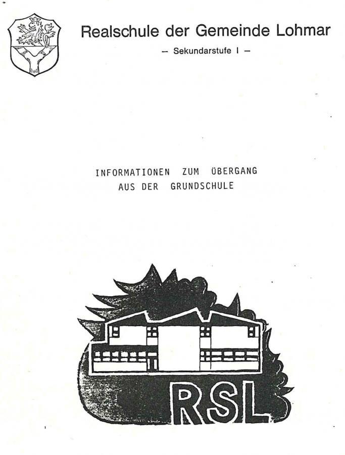 Informationen zum Übergang aus der Grundschule