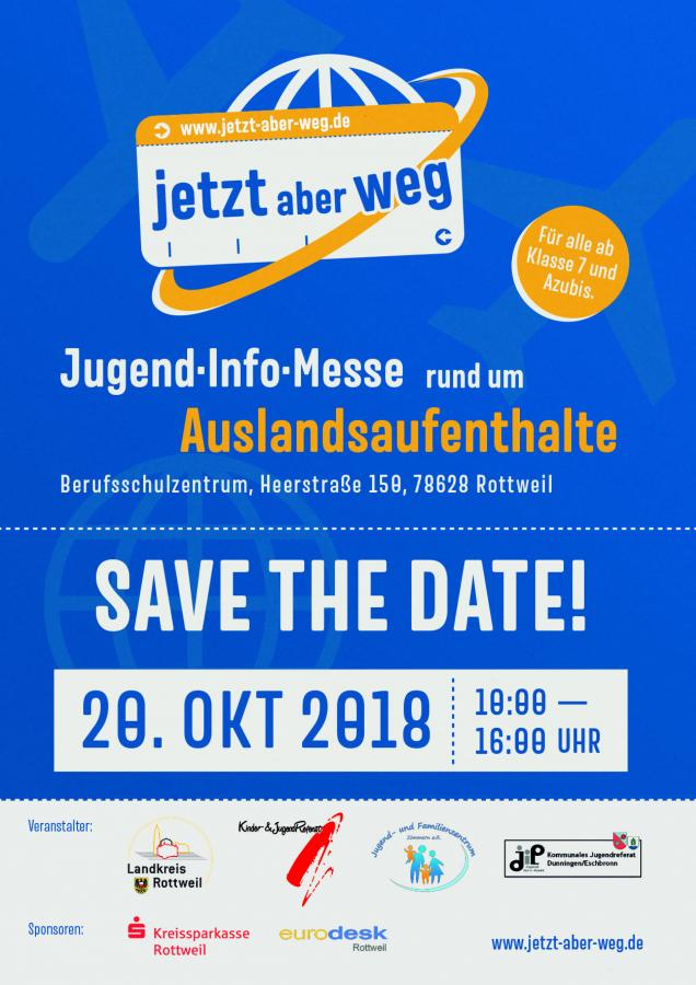 Save the date - Infostand Messe Rottweil