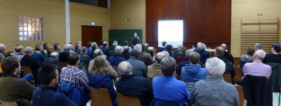 Infoveranstaltung am 13.03.2019 in Rüdershausen