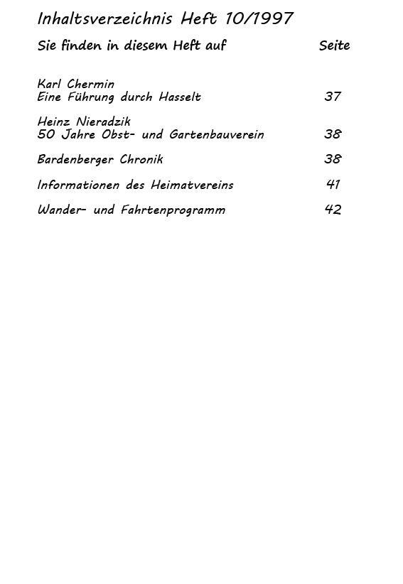 Inhaltsverzeichnis Heft 10/1997-3