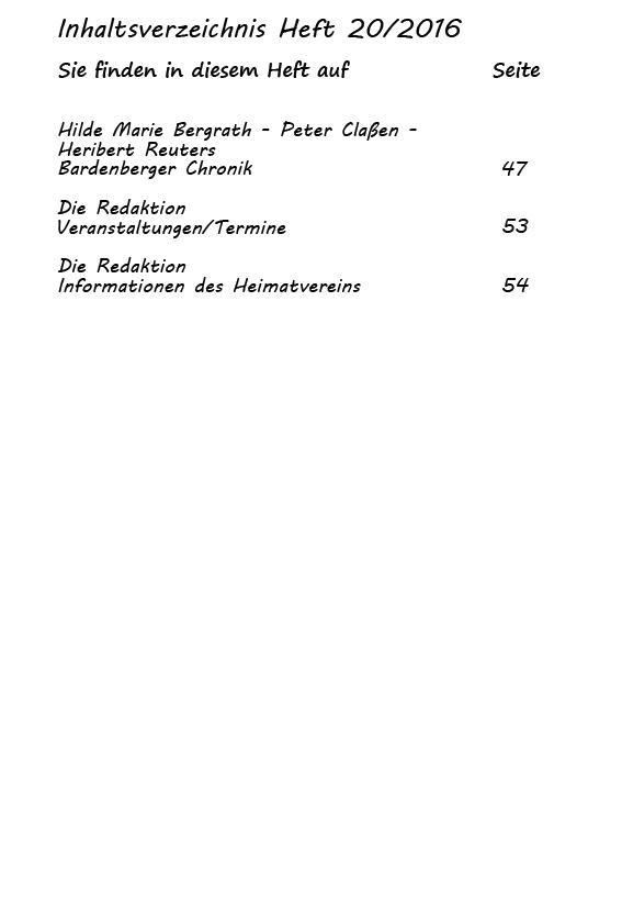 Inhaltsverzeichnis Heft 20/2016-3