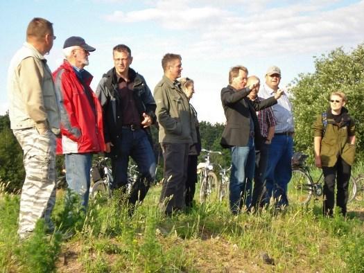 Exkursion der Vereinsmitglieder