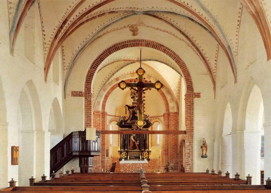 Innenansicht der Parrkirche Altenkirchen