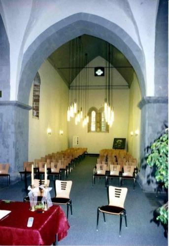 Innenansicht der Veitskirche