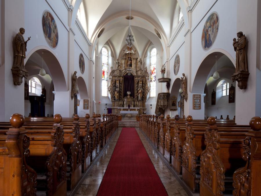 Innenaufnahme - Kirche Ershausen