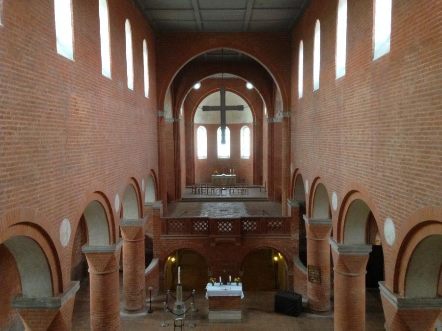 Innenaufnahme der Jerichower Klosterkirche nach Osten