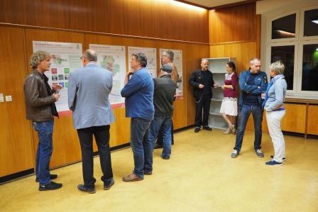 Im Gespräch - INSEK-Ausstellung in der Trebuser Straße 60