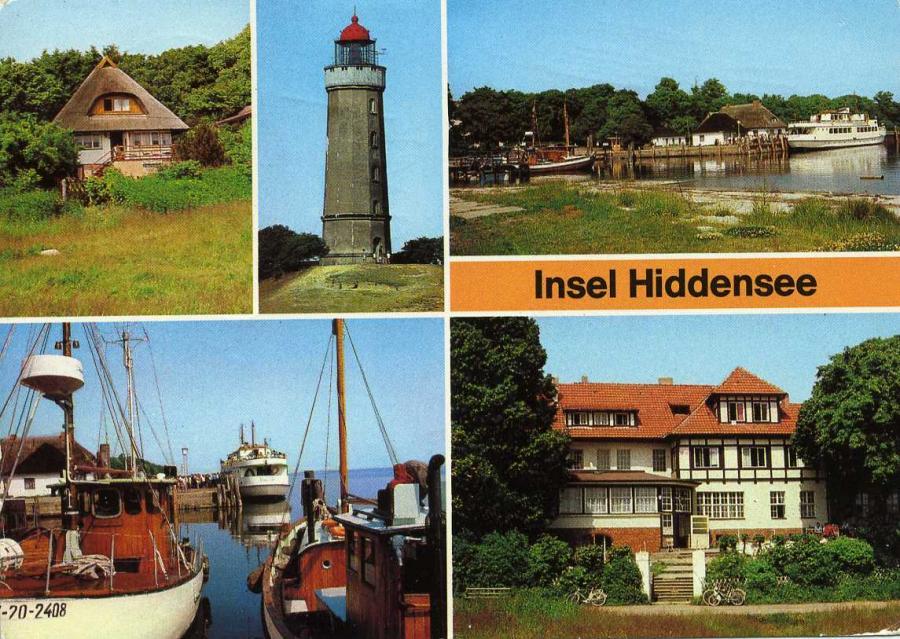 Insel Hiddensee 1984