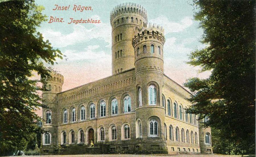 Insel Rügen Binz Jagdschloss