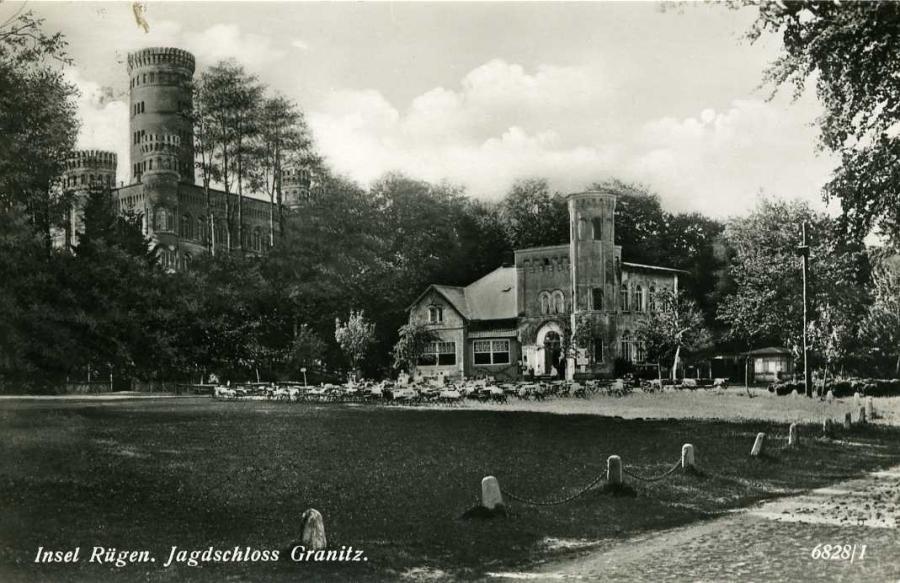 Insel Rügen Jagdschloss Granitz 1934