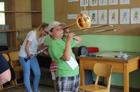Schulfest 2014 Instrumente 1