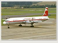 Interflug Iljuschin DDR-STE im Einsatz
