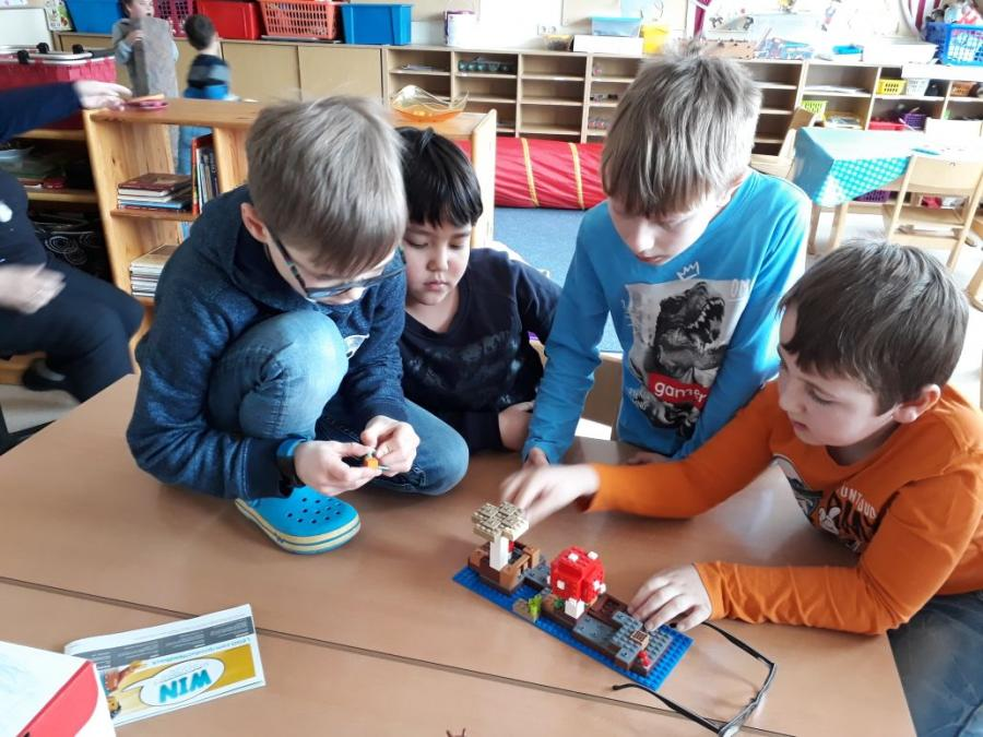 Lego für Rubingruppe 1