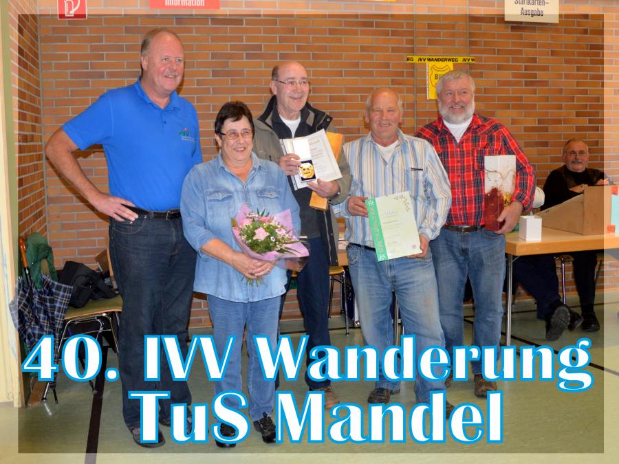 IVV Mandel Gruppenfoto Jubiläum