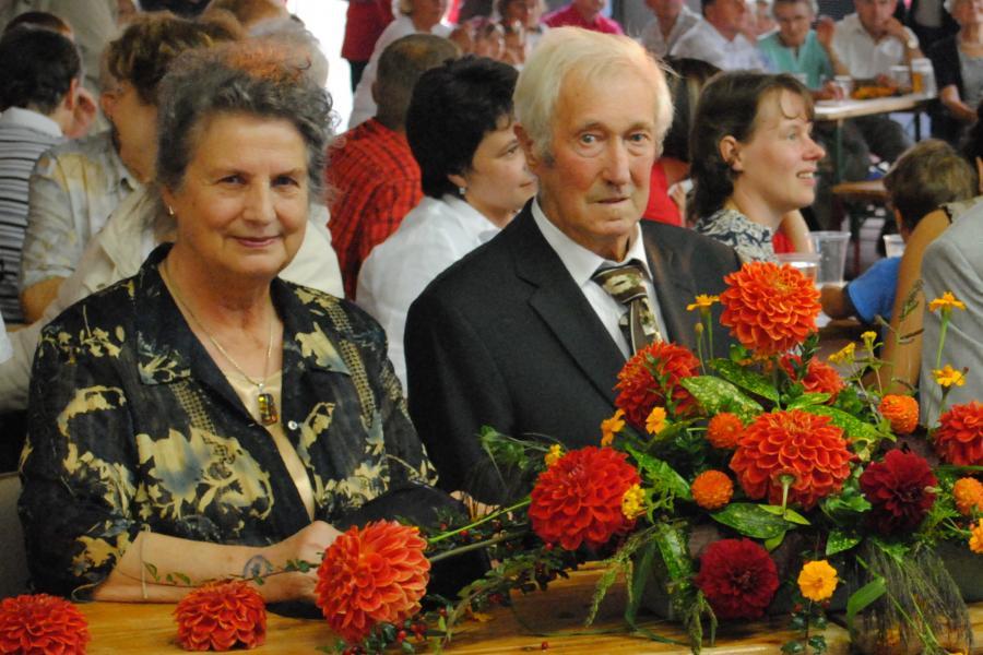 J. Clasen und Frau 2011