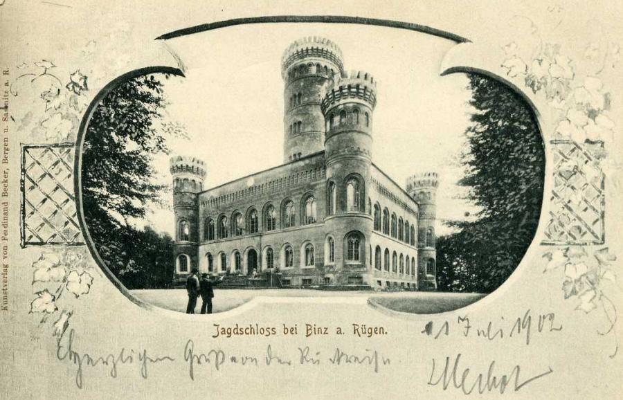 Jagdschloss bei Binz a. Rügen