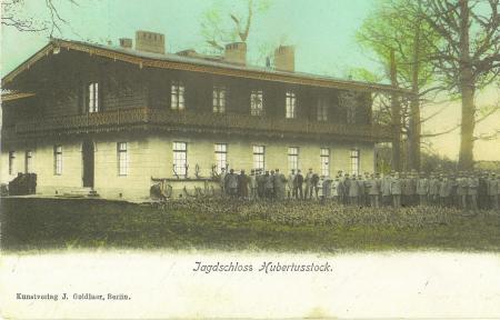 Jagdschloss Hubertusstock zur Kaiserzeit