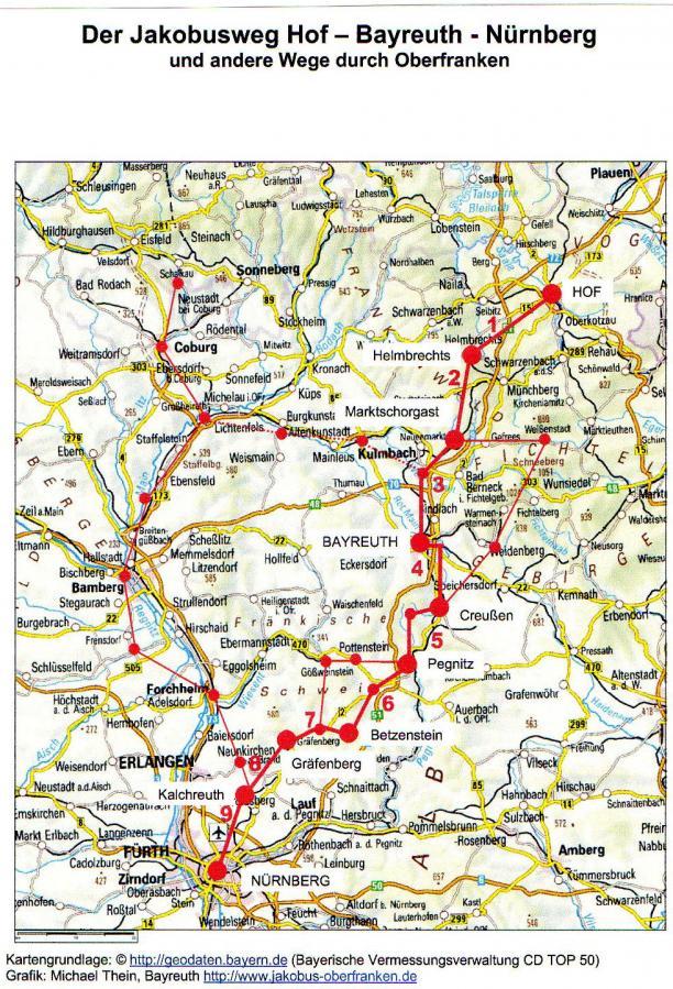 Oberfränkischer Jakobusweg