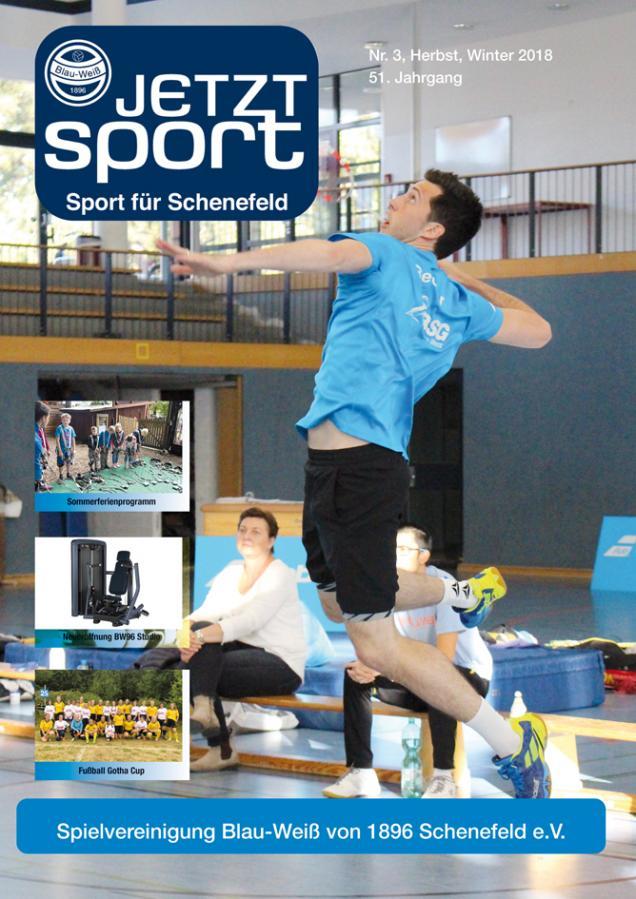 Jetzt-Sport Ausgabe Winter 2018