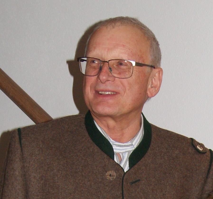 Johann Pflugbeil 1. Schützenmeister