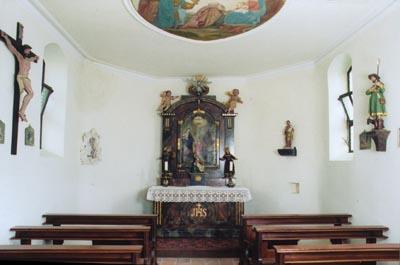 Altar der Josefkapelle