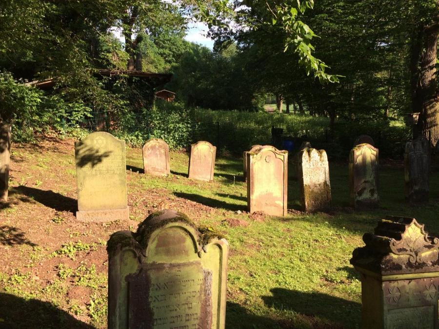 Judenfriedhof in der Waldstraße