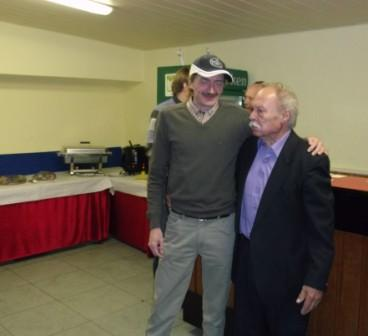 Jürgen Fessel + Manfred Weber (Ehrenvorsitzender KSV)