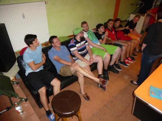 Jugend-Werkstatt im Jugendcafé in Murg am 08. Juli 2016