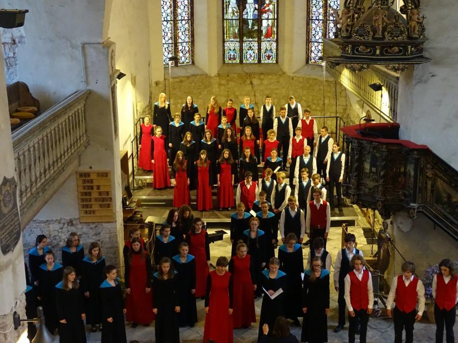 Jugendchor Weimar in der Stadtpfarrkirche Beelitz