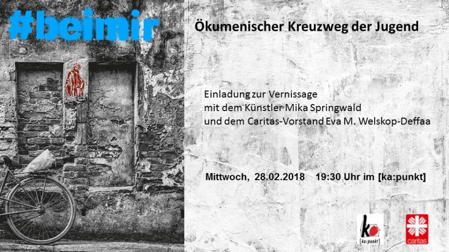 Kreuzweg 2018 Vernissage