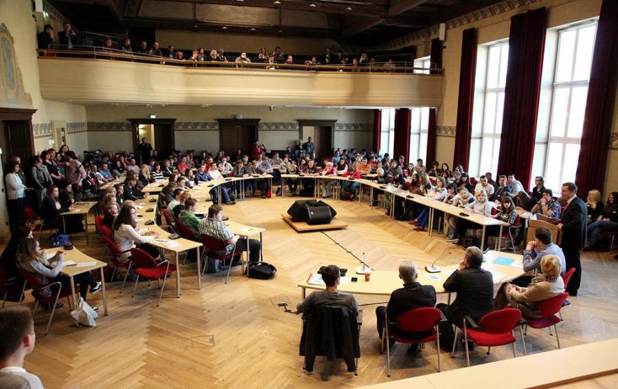 Eröffnung 1. Cottbuser Jugendkonferenz