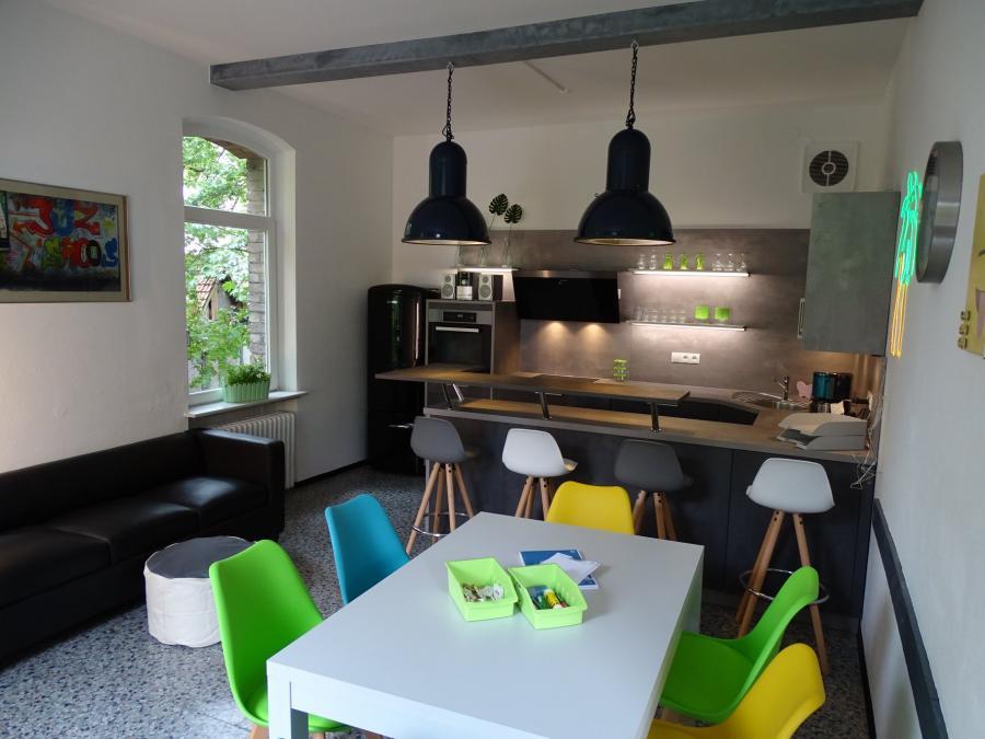 Unsere neu Küche im Bistro