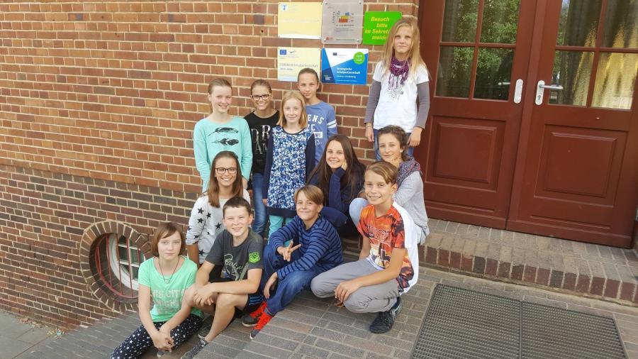 Erasmus+-Schüler der Jahrgangsstufe 6