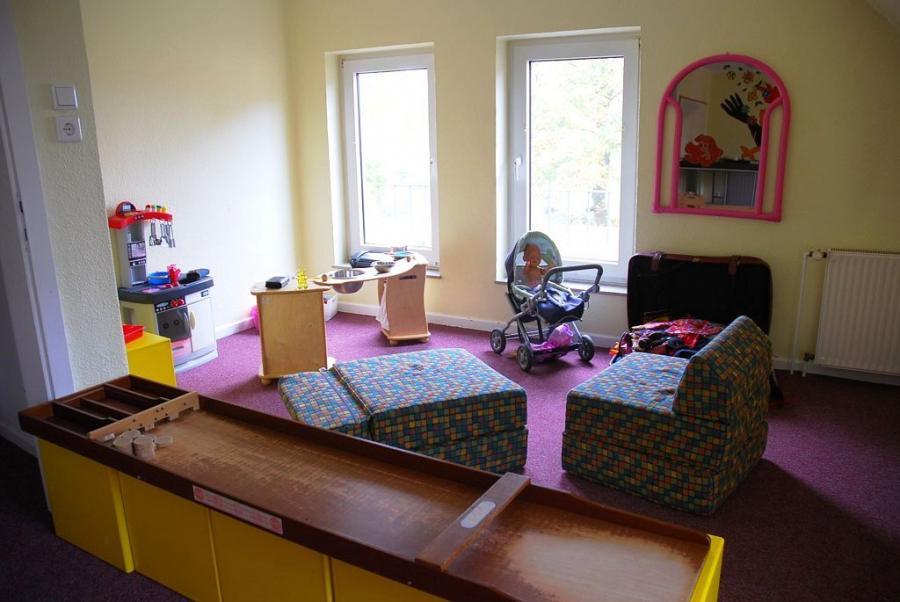 Raum 1 - linke Seite des Spielzimmers