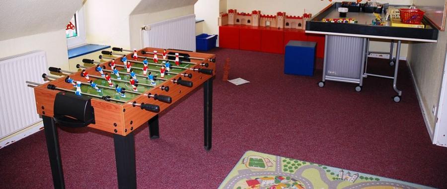 Raum 1 - rechte Seite des Spielzimmers