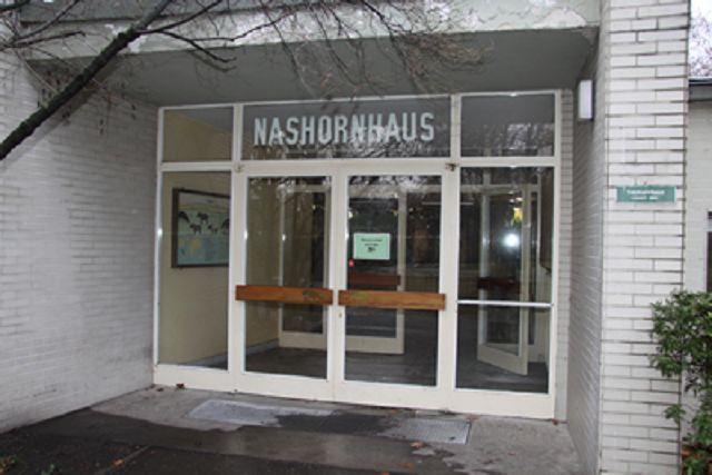 Eingang zum Nashornhaus