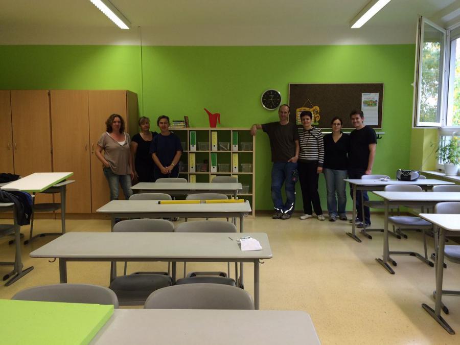 Klassenraum 5b -2014