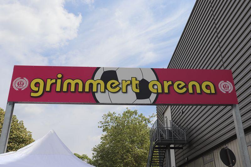 Grimmert-Arena-Schild