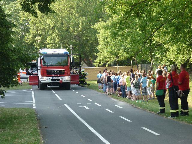 Die Feuerwehr rückt an!
